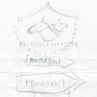 Skizze zum Logo